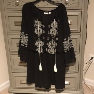 Embroidered romper from New York and Company